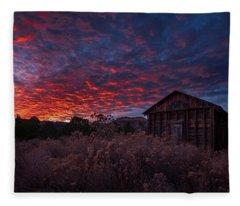 The Perfect Sunset Fleece Blanket
