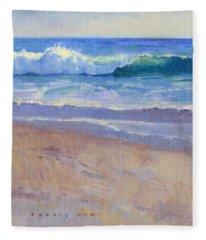The Healing Pacific Fleece Blanket