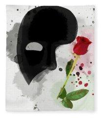 The Phantom Of The Opera Fleece Blanket