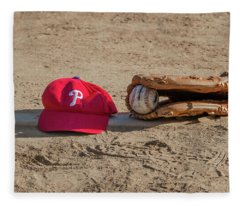 The Philadelphia Phillies Baseball Fleece Blanket