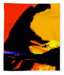 The Pianist Fleece Blanket