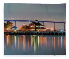 The Pier Cafe Fleece Blanket