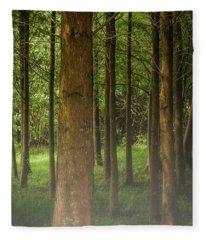 The Pines Fleece Blanket