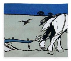 The Ploughman Fleece Blanket