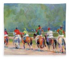The Post Parade Fleece Blanket