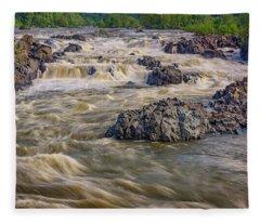 The Potomac River Fleece Blanket