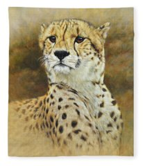 The Prince - Cheetah Fleece Blanket