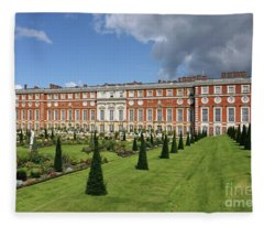 The Privy Garden Hampton Court Fleece Blanket