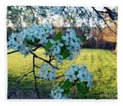 The Promise Of Spring 1c Fleece Blanket