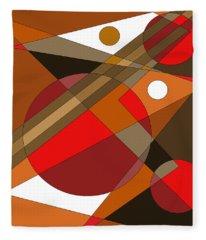 The Red Eye Fleece Blanket