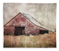 The Red Shed Fleece Blanket