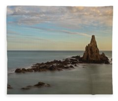 The Reef Of The Cape Sirens At Sunset Fleece Blanket