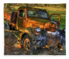 The Resting Place With A Sunset Glow Fleece Blanket