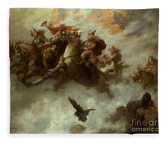 The Ride Of The Valkyries  Fleece Blanket