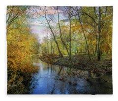 The River Bends Fleece Blanket