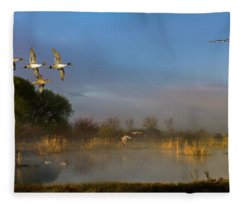 The River Bottoms Fleece Blanket