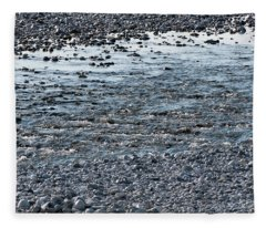 The River Of Youth Fleece Blanket