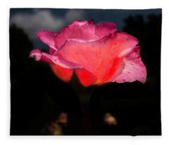 The Rose 2 Fleece Blanket