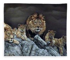 The Royal Family Fleece Blanket