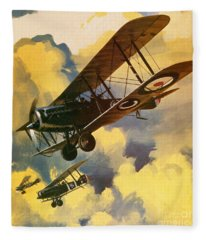 The Royal Flying Corps Fleece Blanket