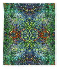 The Sacred Dimensions Of Reality #1410 Fleece Blanket