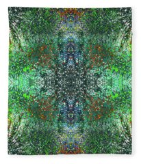 The Sacred Dimensions Of Reality #1412 Fleece Blanket