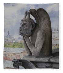 The Same Old Thing Fleece Blanket