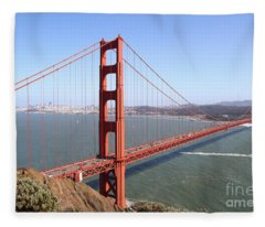 The San Francisco Golden Gate Bridge 7d14507 Fleece Blanket