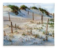 The Sands Of Obx Hdr Fleece Blanket