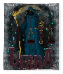 The Scale Libra Spirit Fleece Blanket