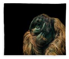 The Sceptic Fleece Blanket