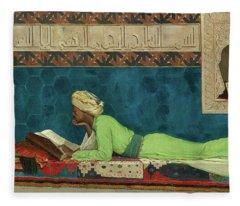 The Scholar Fleece Blanket