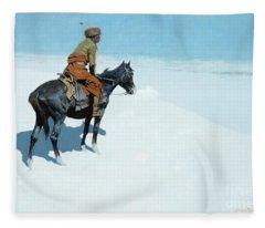 The Scout Friends Or Foes Fleece Blanket