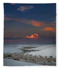 The Sea Of Sands Fleece Blanket
