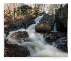 The Secret Waterfall 2 Fleece Blanket