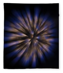The Seed Of A New Idea Fleece Blanket