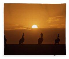 The Sentinels Fleece Blanket