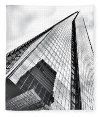 The Shard Building Fleece Blanket