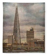 London, England - The Shard Fleece Blanket