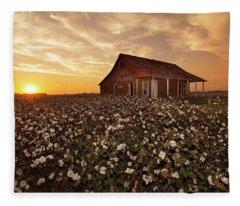 The Sharecropper Shack Fleece Blanket