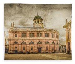 Oxford, England - The Sheldonian Theater Fleece Blanket