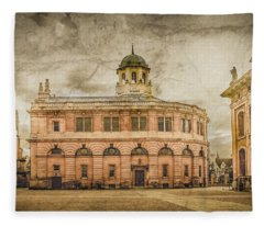 Oxford, England - The Sheldonian Theater Fleece Blanket