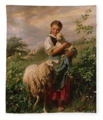 Agriculture Fleece Blankets