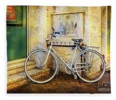 The Shinning Elite Bicycle Fleece Blanket
