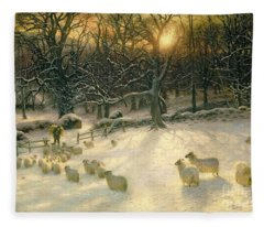 Snowfall Fleece Blankets