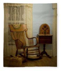 The Sitting Place Fleece Blanket