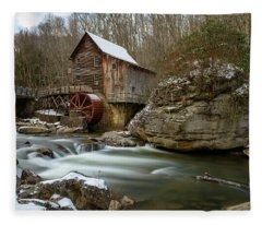 The Splendor Of West Virginia Fleece Blanket