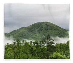 The Smokies Fleece Blanket