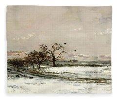 The Snow Fleece Blanket