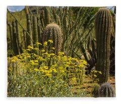 The Song Of The Sonoran Desert Fleece Blanket